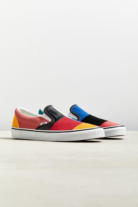 9416e4c260209 Vans Slip-On Patchwork Sneaker