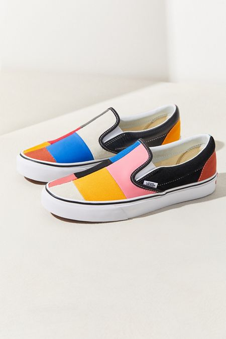 9dca06ba2ba18 Vans Patchwork Slip-On Sneaker