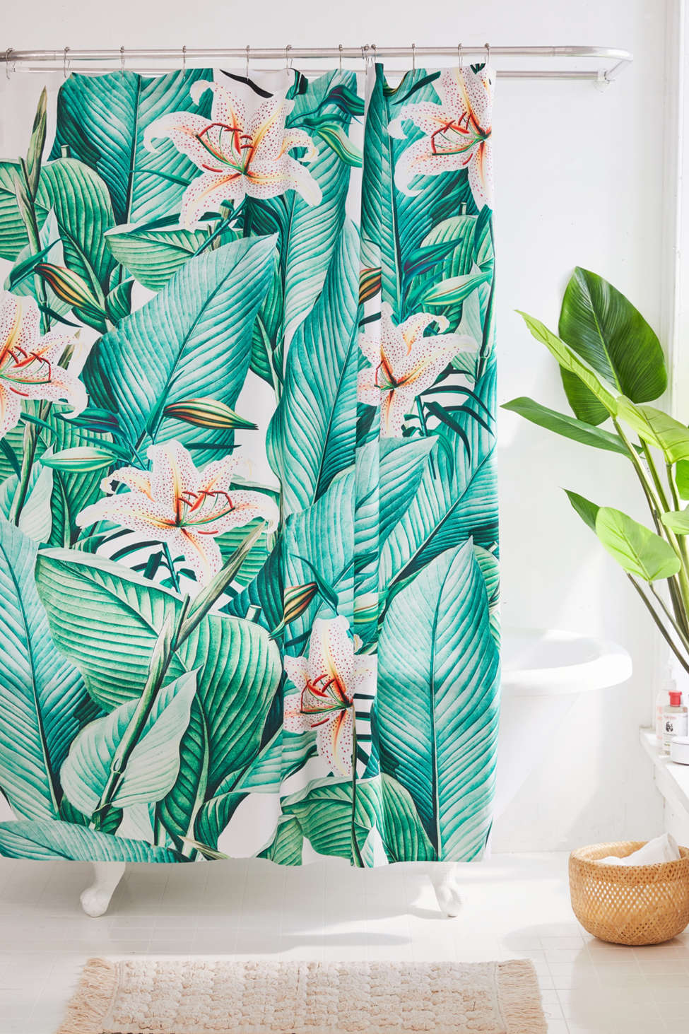 Slide View: 1: Gale Switzer For Deny Tropical State Shower Curtain