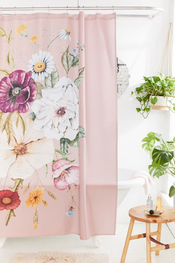 Slide View 1 Shealeen Louise For Deny Wildflower Bouquet Shower Curtain