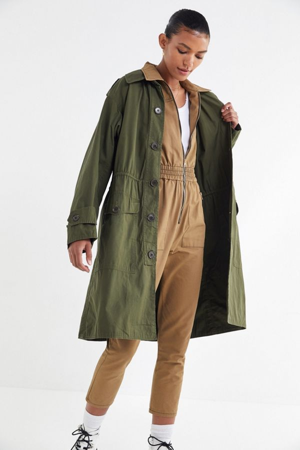 Vintage Surplus Trench Coat   Urban Outfitters 97ae298404