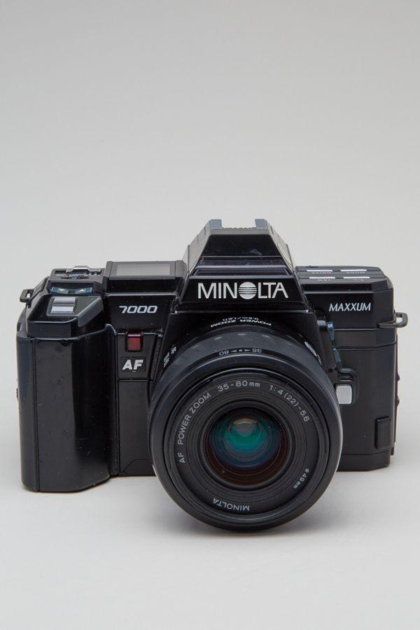 Acme Camera Co Vintage Minolta Maxxum 7000 AF 35mm