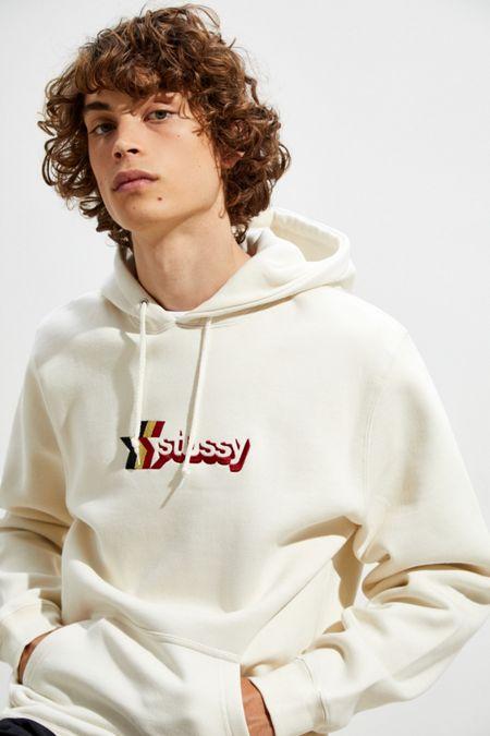 Stussy 3-Star Applique Hoodie Sweatshirt 1835e36076