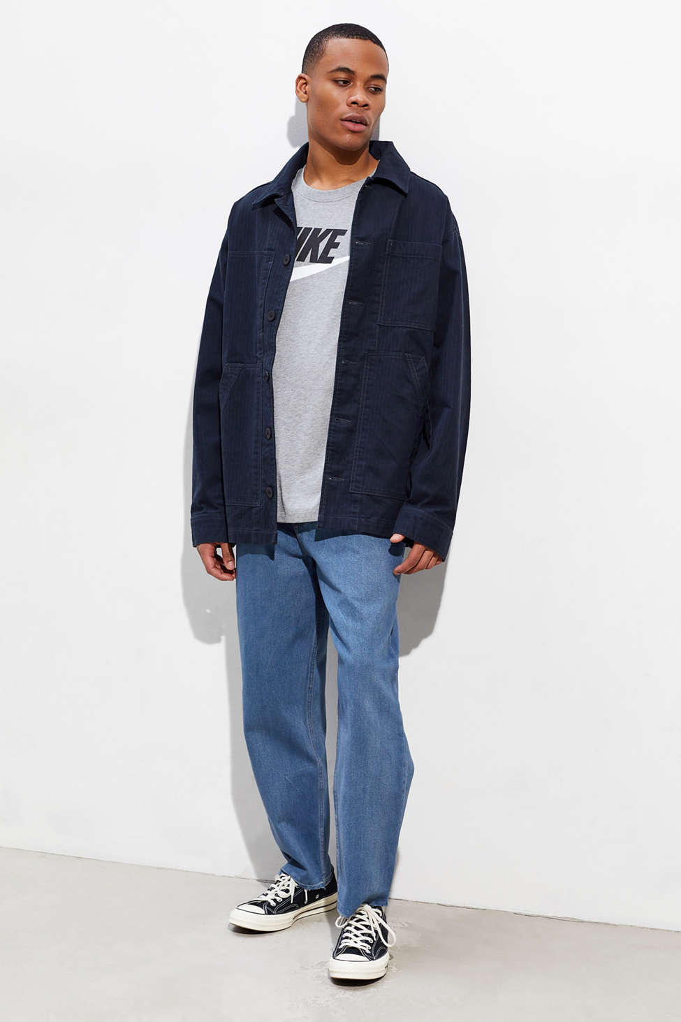 Bdg Straight Cropped Jean by Bdg