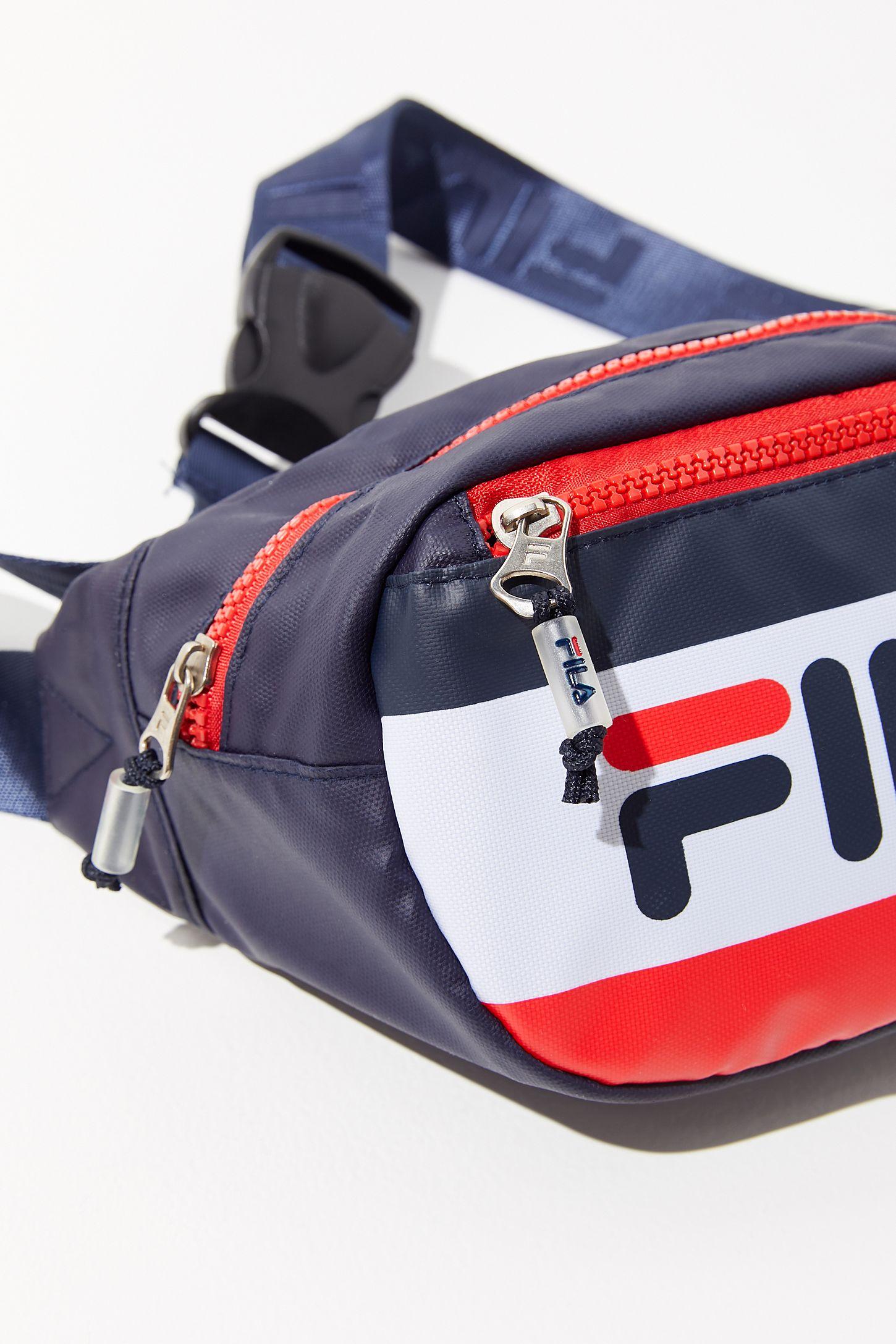 Fila Hunts Belt Bag Urban Outfitters Ready Stock Waist Zipper On Slide View 5