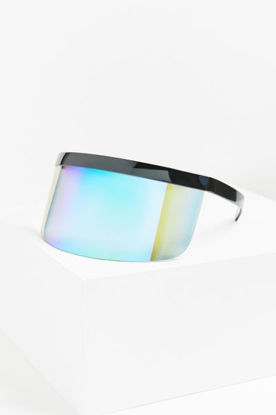 Privacy Plz Shield Sunglasses by Urban Outfitters