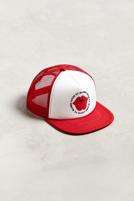 21123c9c2ad Lucid FC X Blobs Lips Trucker Hat
