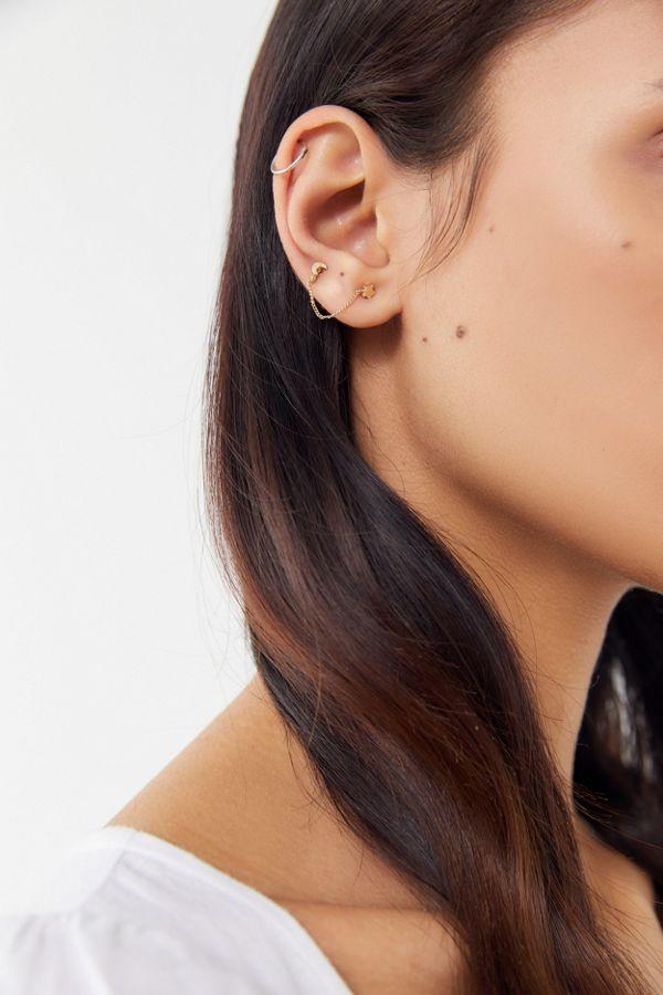 Nova Double Post Earring Set