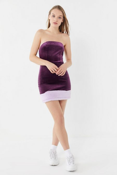 Purple Dresses Rompers Urban Outfitters