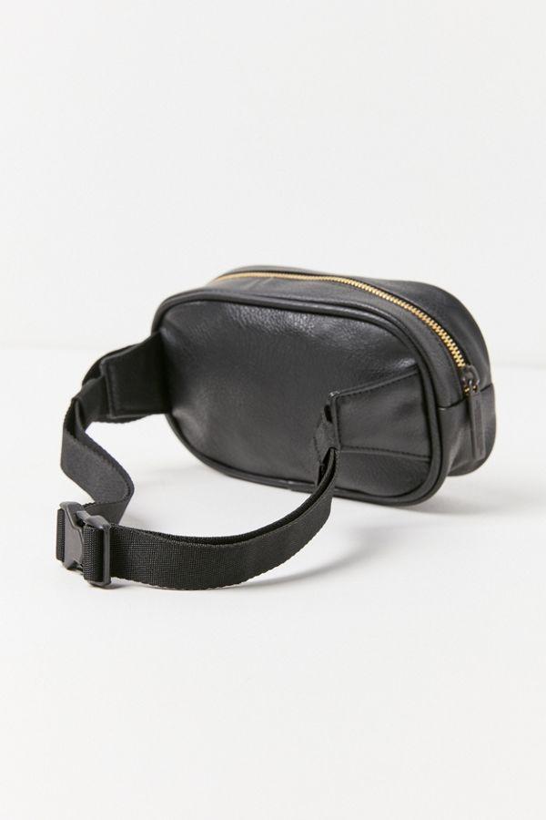 Slide View 3 Adidas Originals Faux Leather Belt Bag