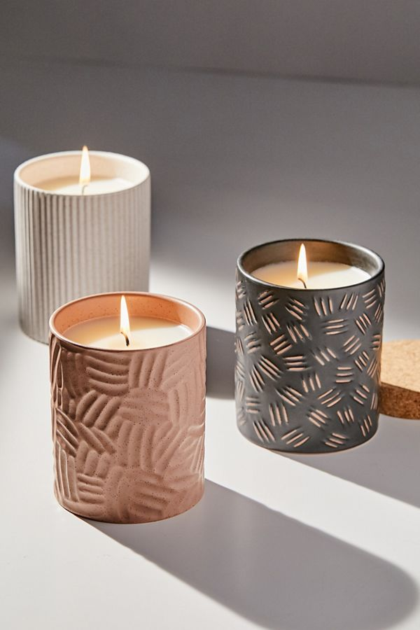 Slide View: 1: Raw Clay Collection Candle