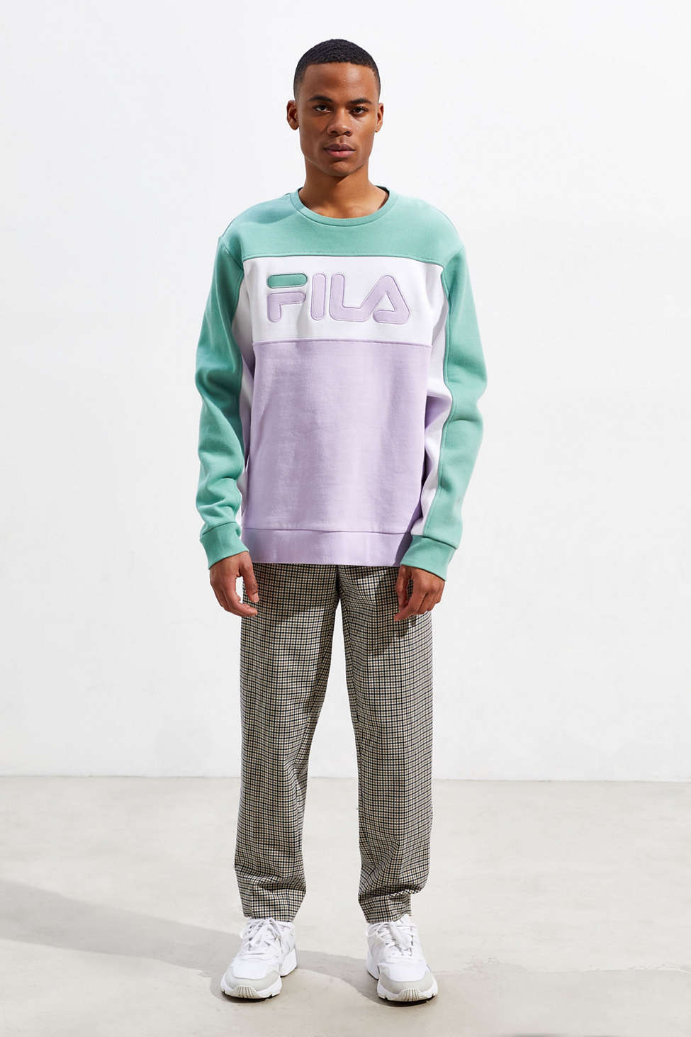 Fila Lesner Crew Neck Sweatshirt by Fila