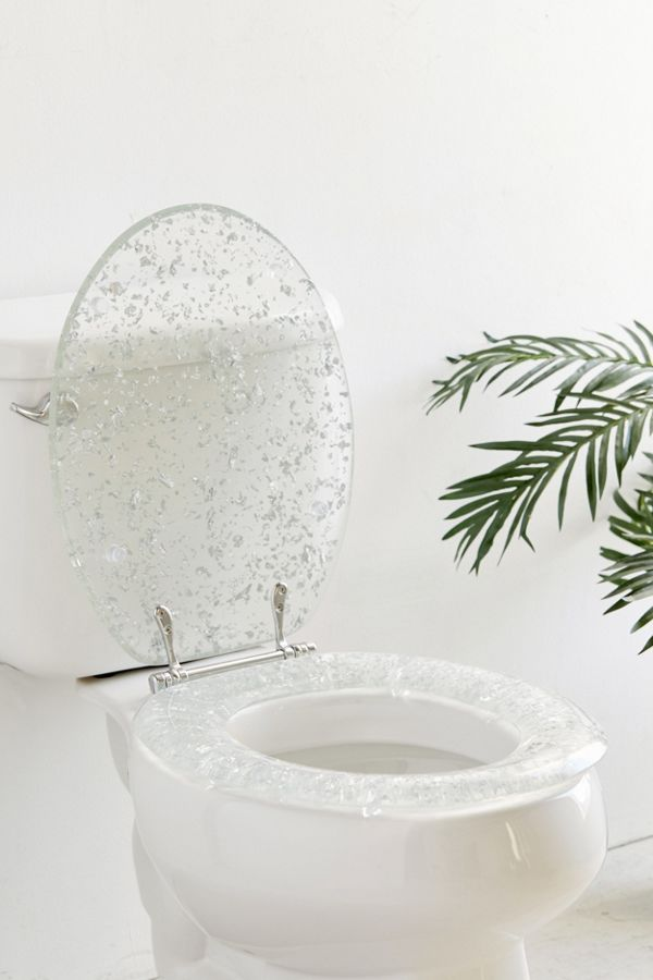 Metallic Flecked Toilet Seat Urban Outers