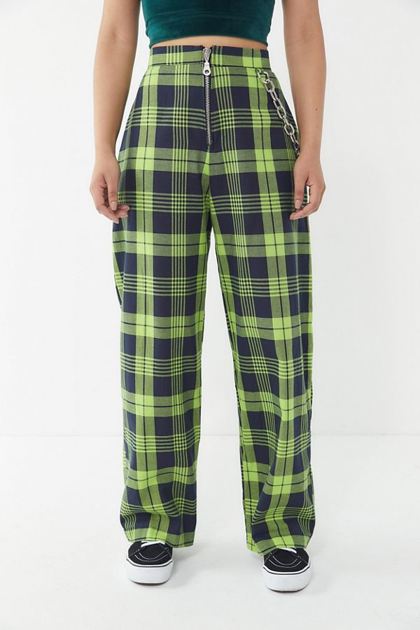 the ragged priest checkered trouser pant urban outfitters