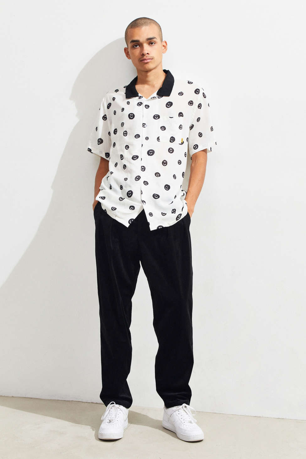 M/Sf/T Mangos Short Sleeve Button Down Shirt by M/Sf/T