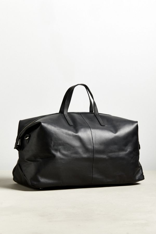 Slide View 1 Sandqvist Damien Leather Weekend Duffle Bag