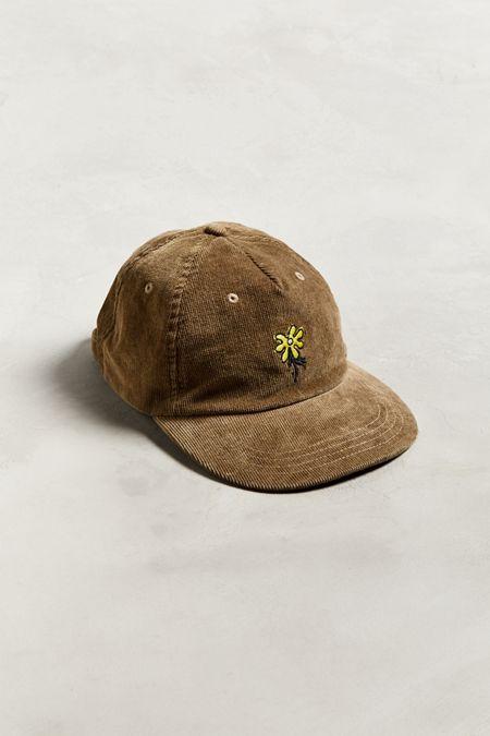 M SF T Corduroy Flower Baseball Hat acb9eebe53c6
