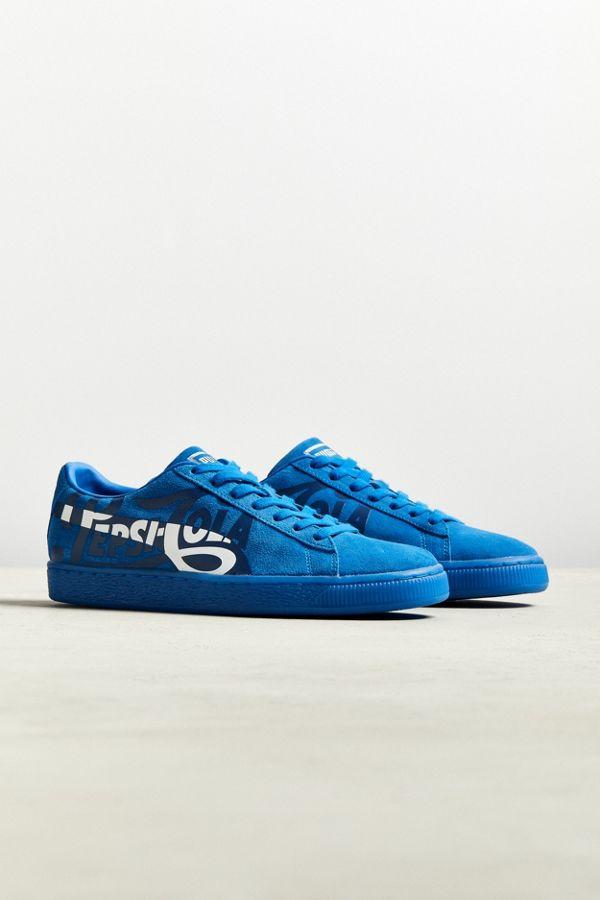 4dc69b0d6272 Slide View  1  Puma X Pepsi Suede Classic Sneaker