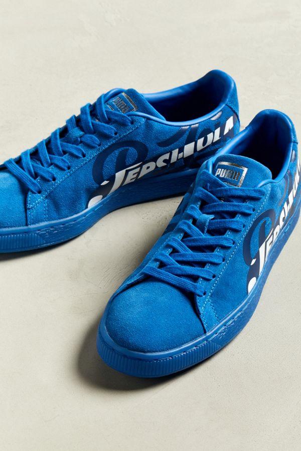 37e91249424e Slide View  2  Puma X Pepsi Suede Classic Sneaker