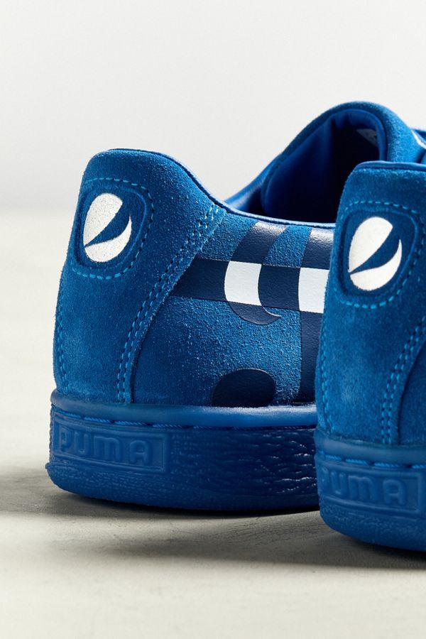 131c6d91a783 Slide View  3  Puma X Pepsi Suede Classic Sneaker