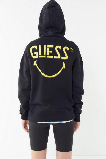 GUESS X Chinatown Market X Smiley UO Exclusive Hoodie Sweatshirt 1189121ce9c2