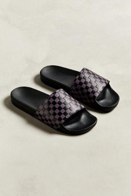 3d6e49f0653 Vans Slide-On Checkerboard Sandal