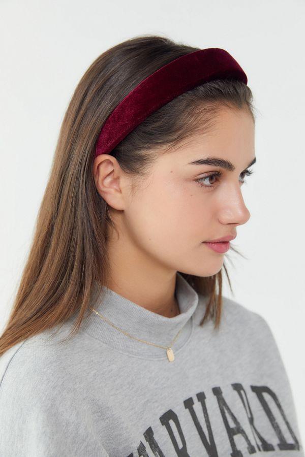 Slide View  1  Clarissa Padded Headband 23b6721745f