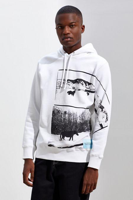 Calvin Klein X Andy Warhol Modern Landscape Hoodie Sweatshirt d2a922f5b7