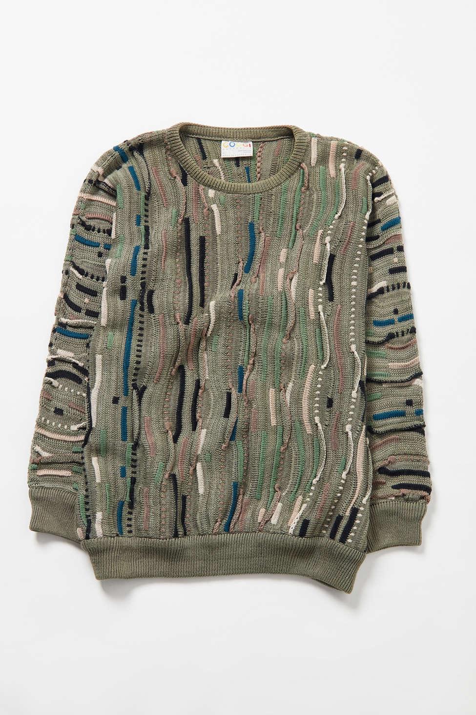 Vintage Coogi Olive Sweater