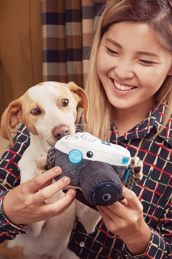 Slide View: 3: BARK Licka K9 Camera Dog Toy