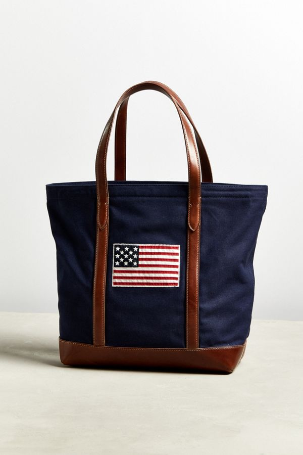 ad41c49cd0d ... canada slide view 5 polo ralph lauren american flag sweater tote bag  ae4b2 5b6fc