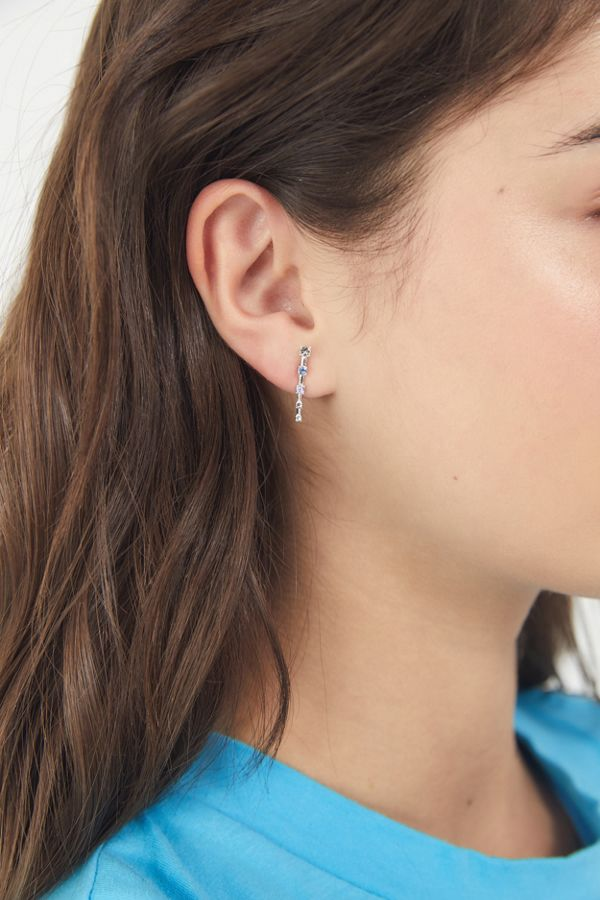 Slide View 2 Luv Aj Ombre Constellation Crawler Earring