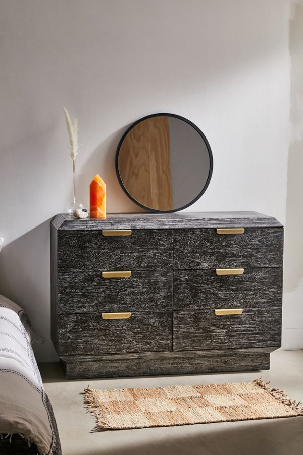 Urban Outfitters Furniture Finley 6-Drawer Dresser