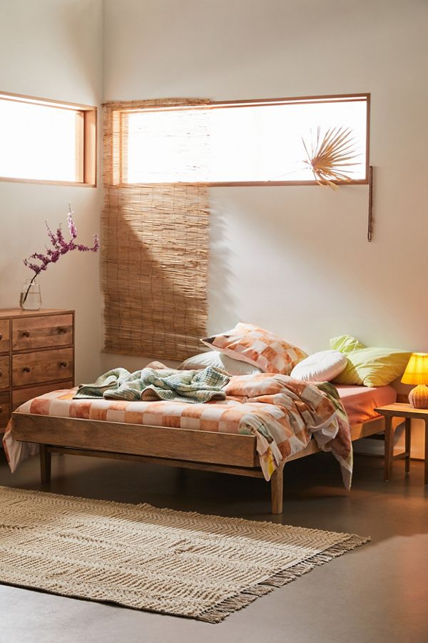 Urban Outfitters Furniture Wyatt Mid-Century Bed