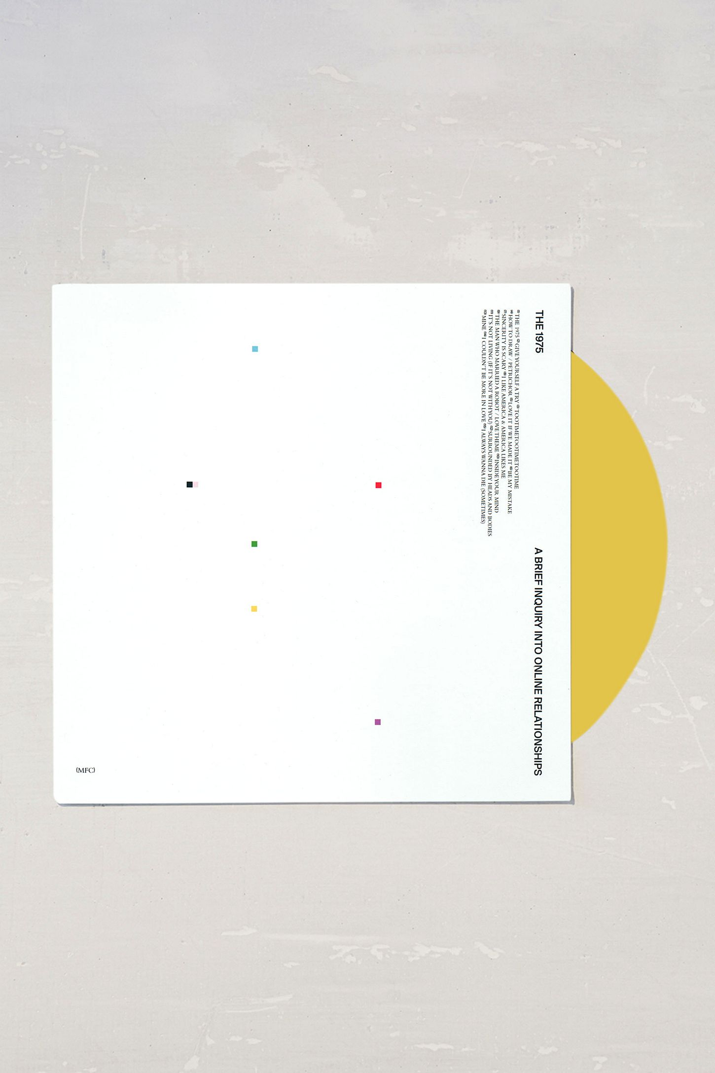 The 1975 A Brief Inquiry Into Online Relationships Limited 2xlp