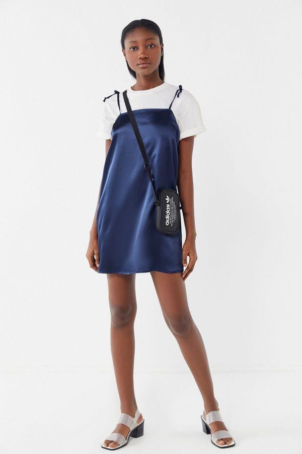 8b37241940fd URBAN RENEWAL. Urban Renewal Remnants Satin Tie-Shoulder Slip Dress