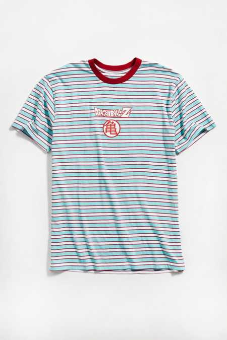 Dragon Ball Z Striped Tee