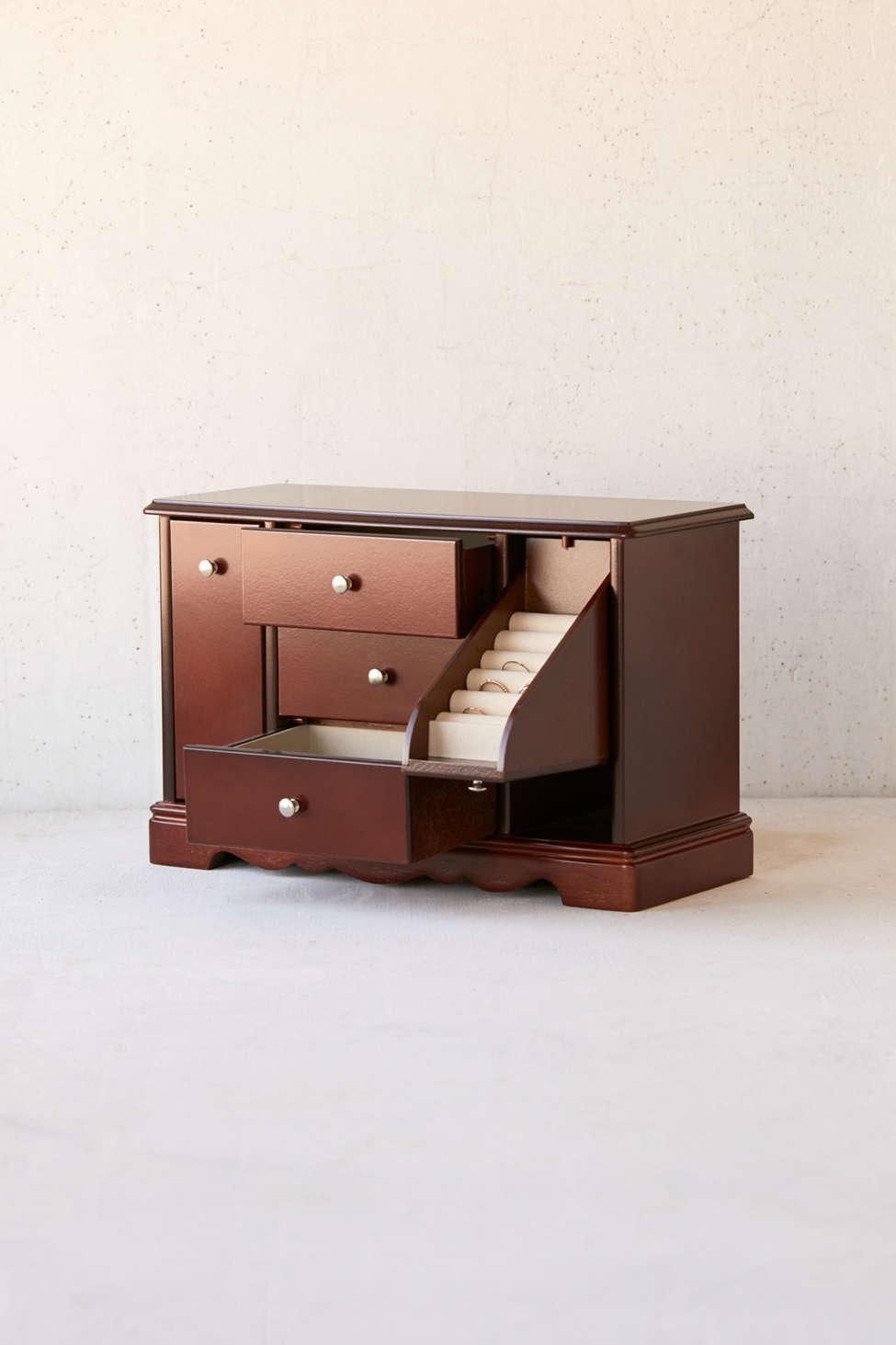 Slide View: 1: Mele & Co. Bancroft Jewelry Box