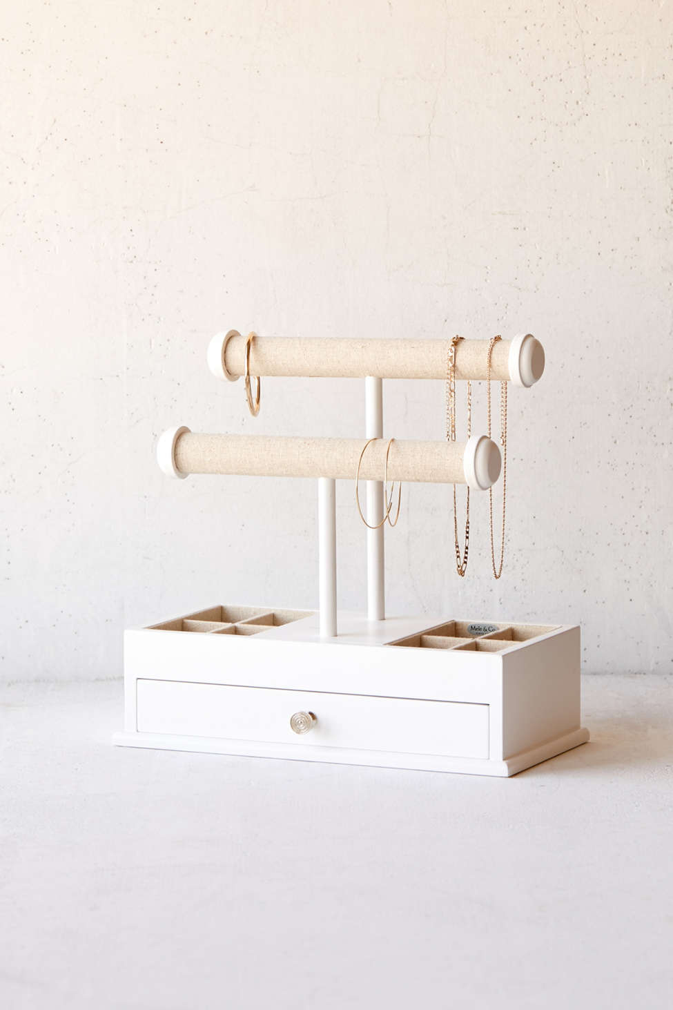 Slide View: 1: Mele & Co. Ivy Jewelry Box + Stand