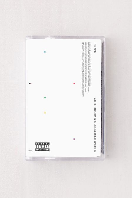 The 1975 Vinyl Records Cassettes Urban Outfitters