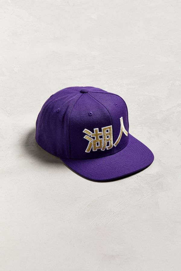 Slide View  1  Mitchell   Ness Chinese New Year Los Angeles Lakers Snapback  Hat 484c4e1861a