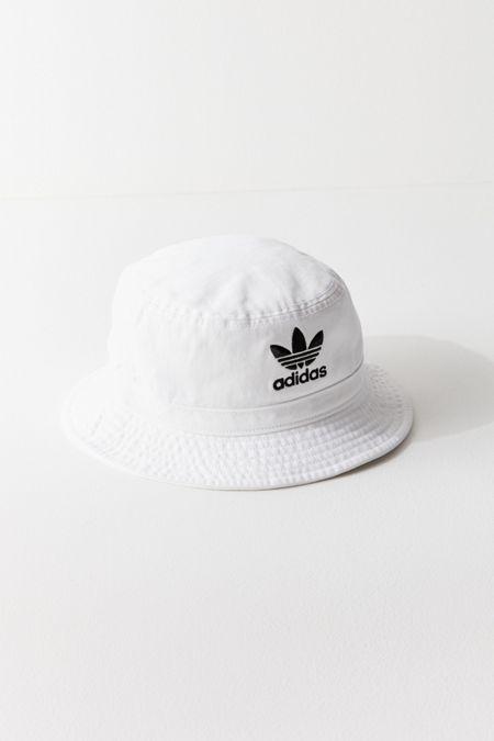 adidas Originals Denim Bucket Hat · Quick Shop d9e5b91127af