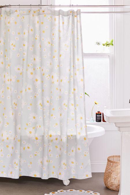 Allover Daisies Shower Curtain