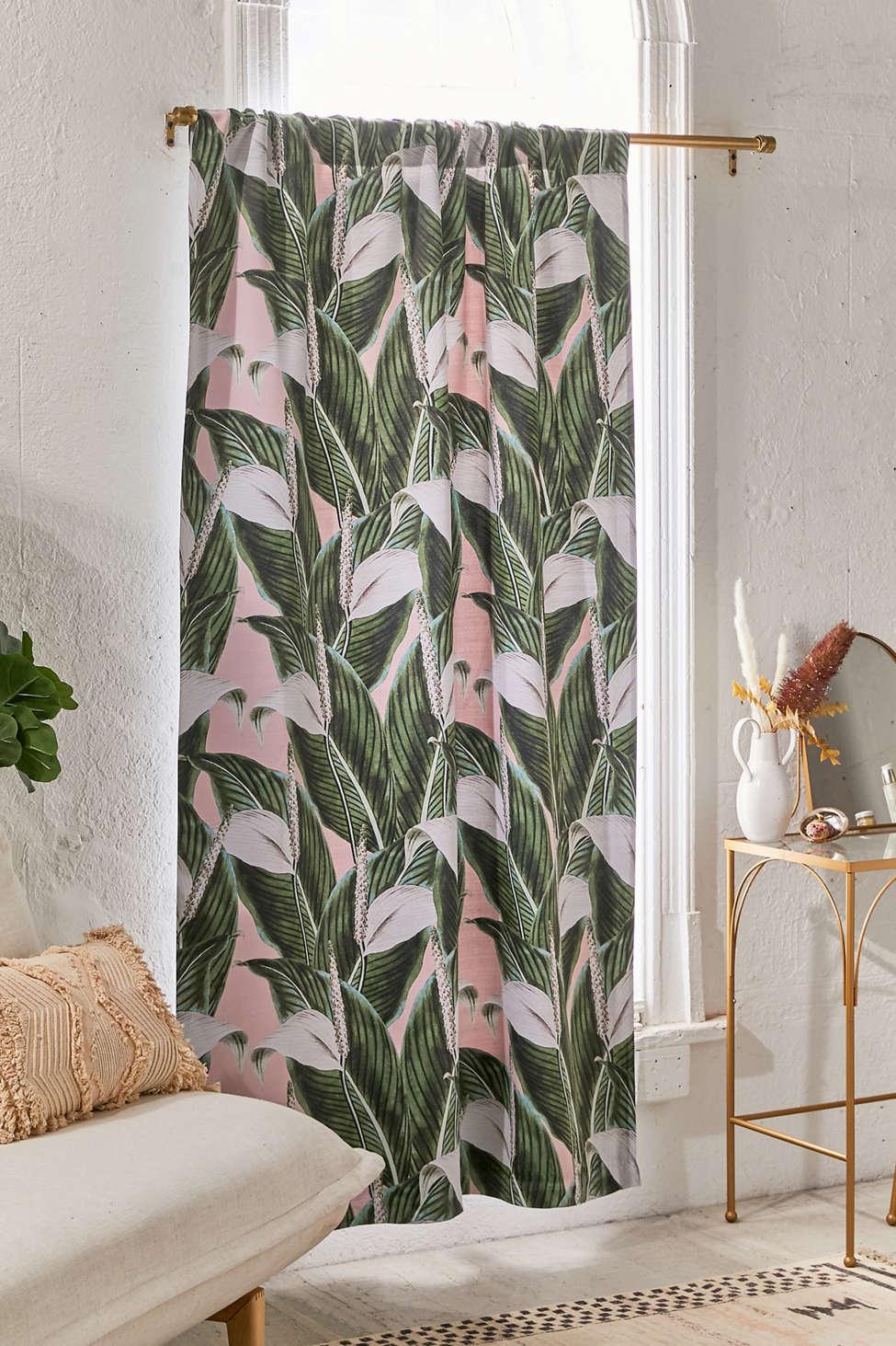 Slide View: 1: Marta Barragan For Deny Sweet Floral Room Darkening Window Panel