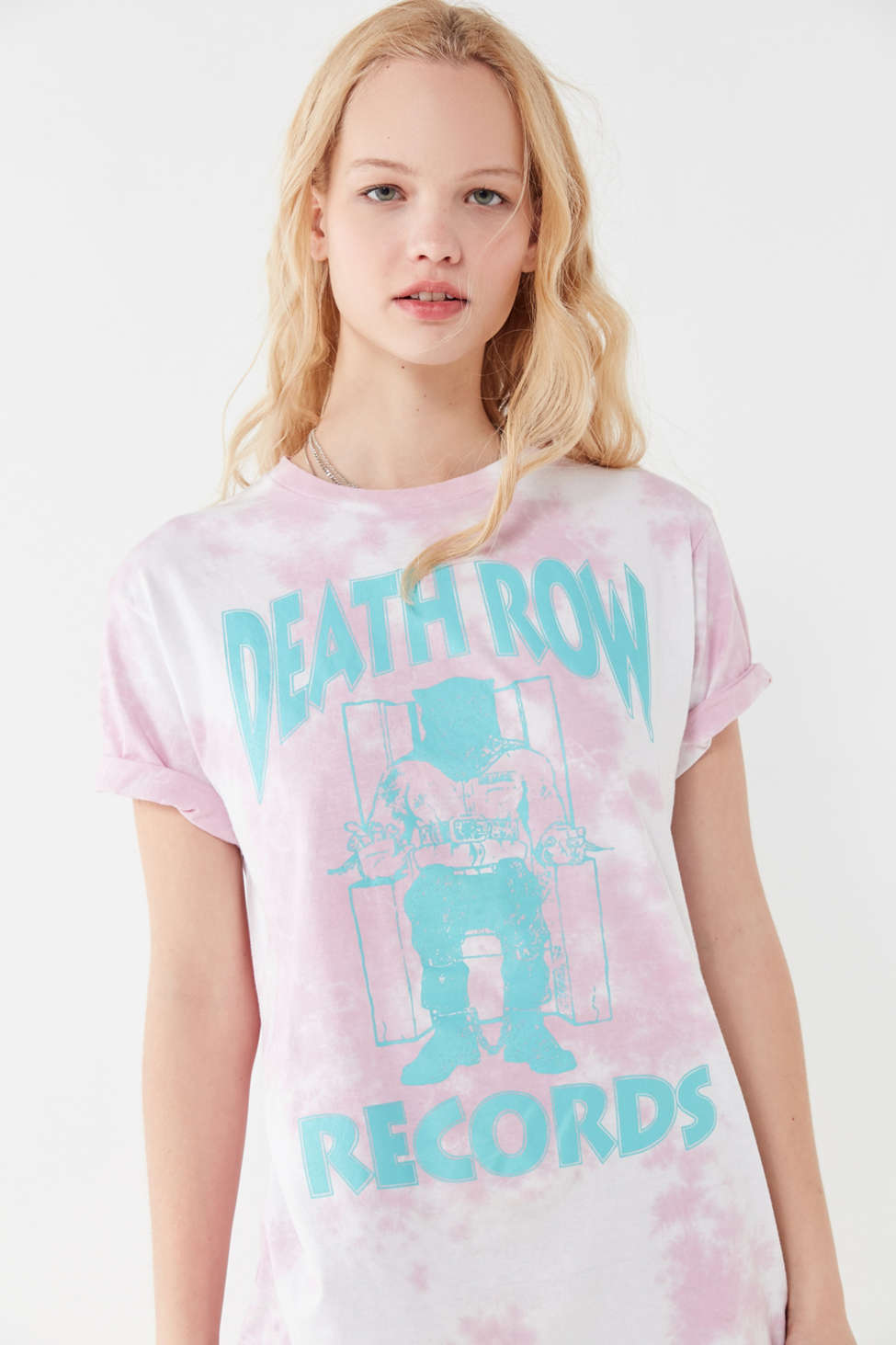 Death Row Records Tie Dye Tee by Urban Outfitters