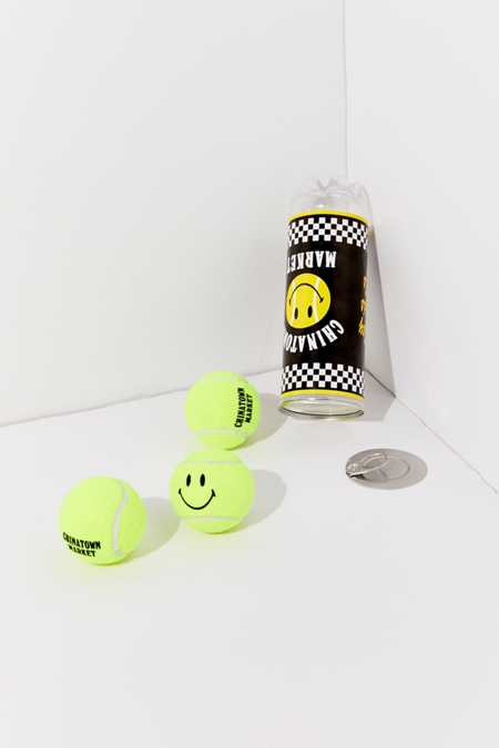 Chinatown Market X Smiley UO Exclusive Tennis Ball - Set Of 3