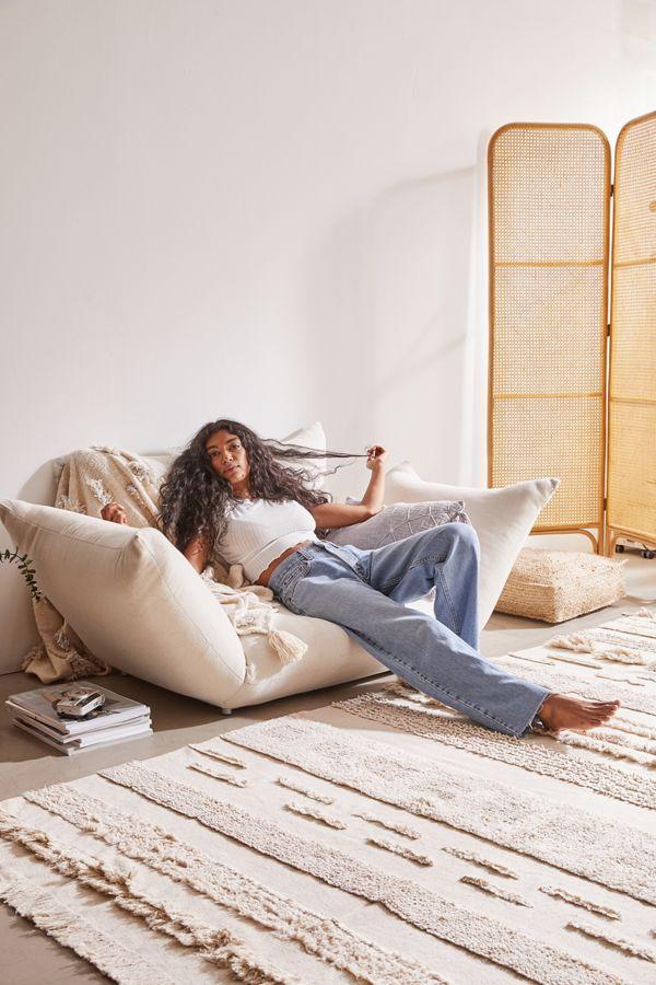 Slide View: 1: Cirrus Convertible Floor Sofa