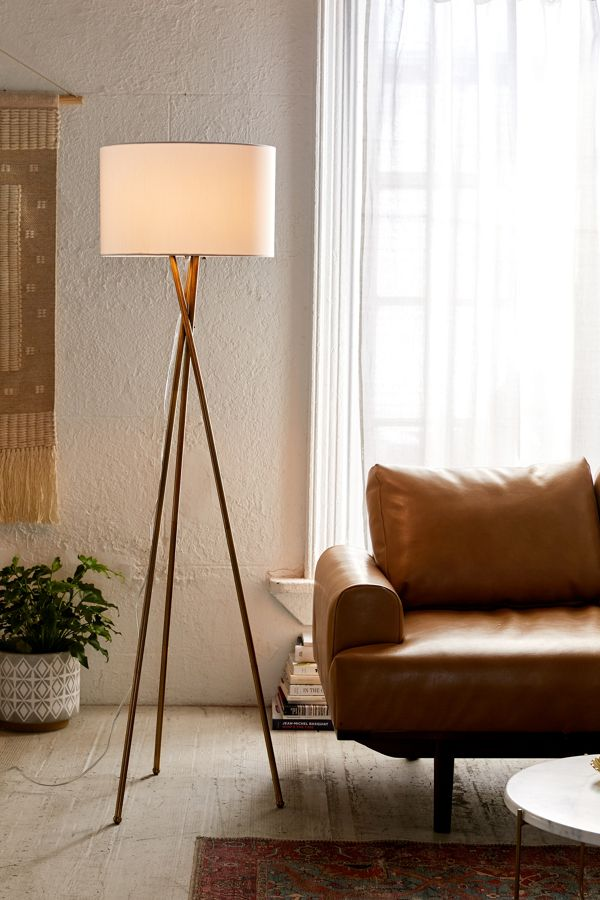 Slide View: 1: Clara Tripod Floor Lamp