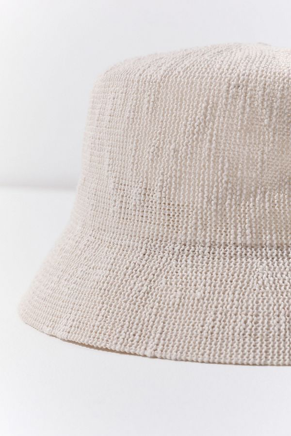 Slide View  4  UO Ella Woven Bucket Hat eb938621cbd