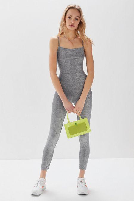 b8b9bbc4d48b Motel UO Exclusive Solina Glitter Jumpsuit